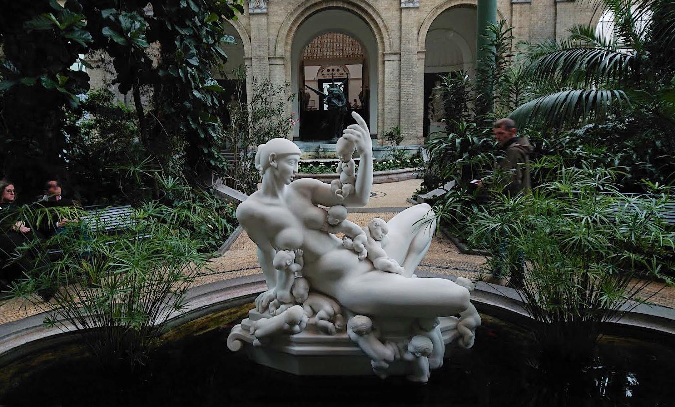 glyptoteket garden
