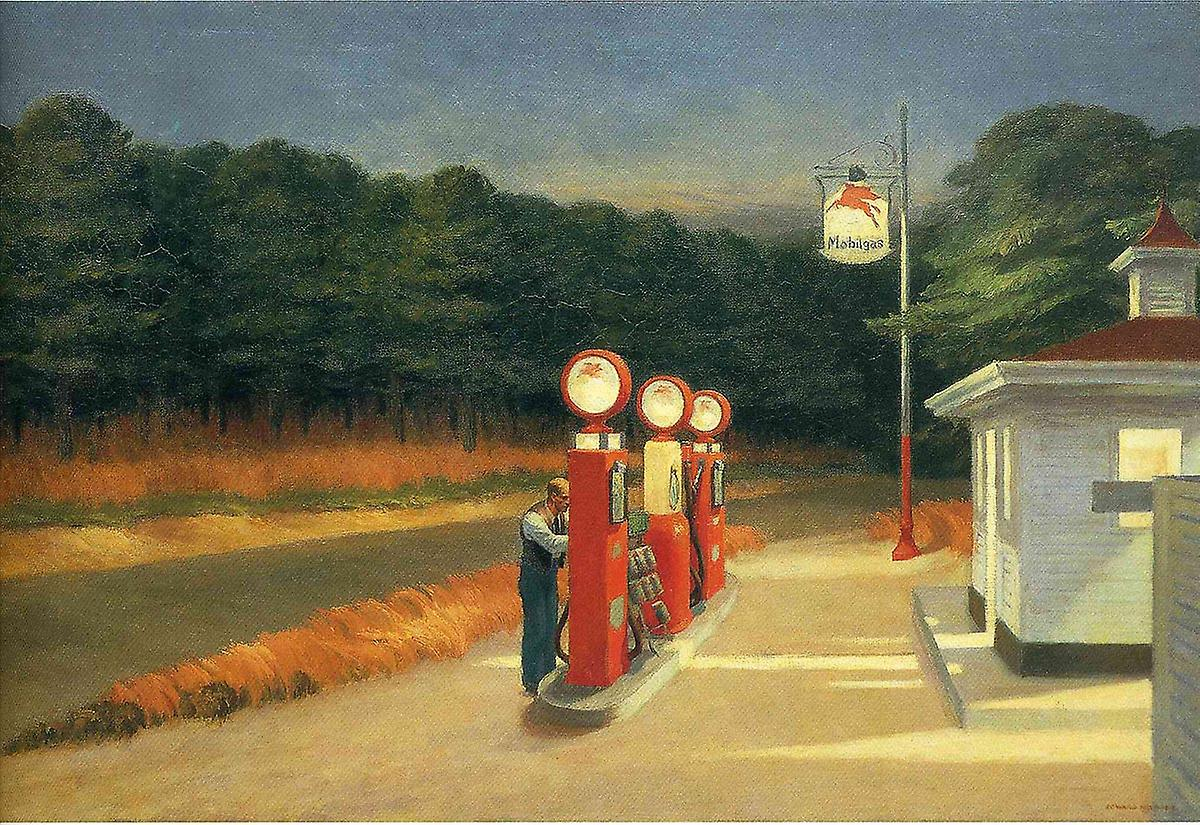 Edward Hopper: Gas station