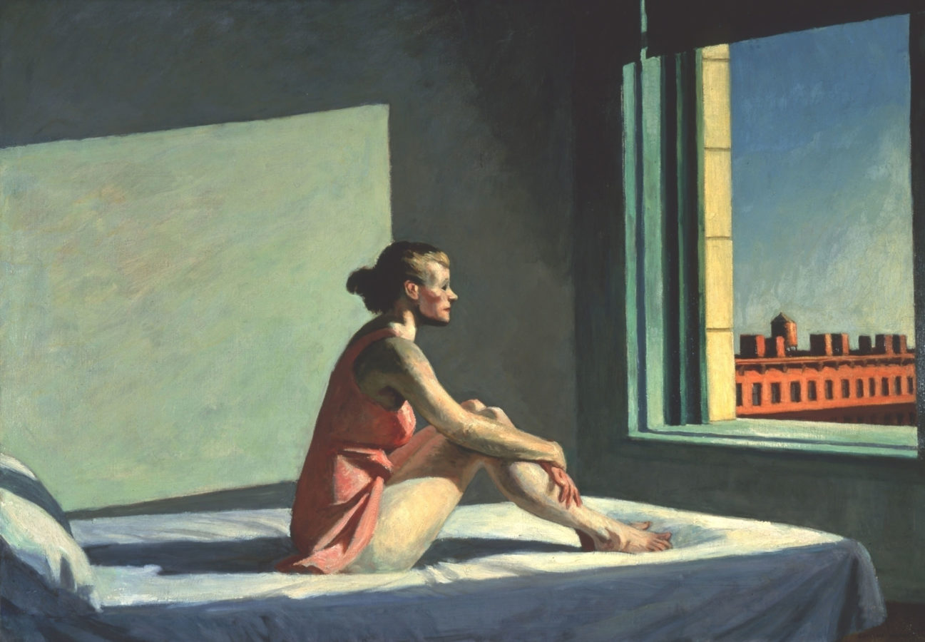 Edward Hopper: Morning sun