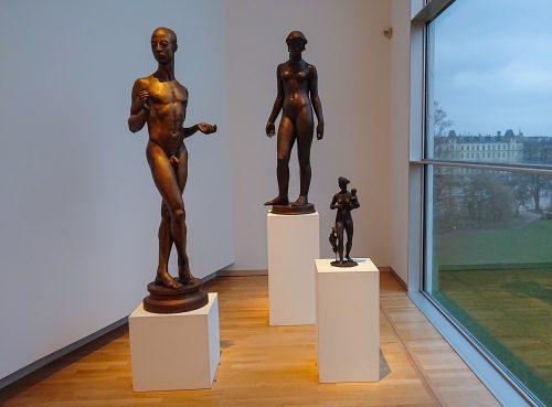 lejring - skulpturer