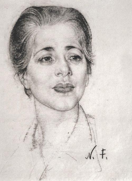 Portrait of lady 4