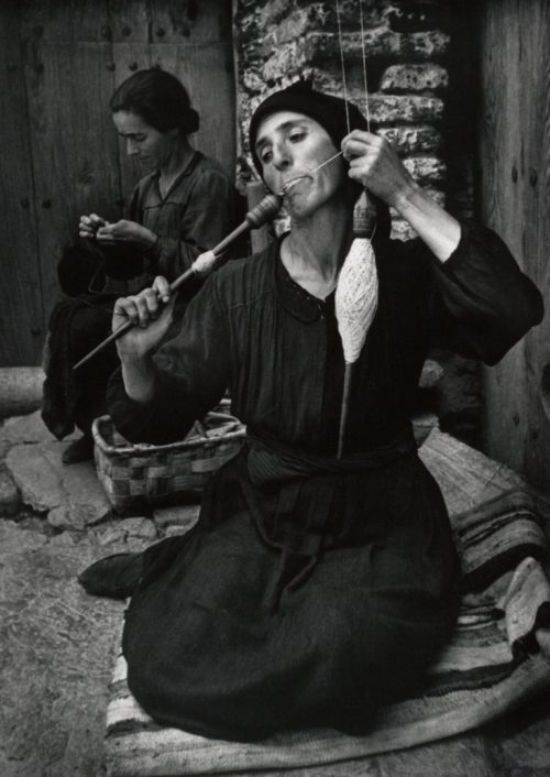 W. Eugene Smith: Spinnerskan, 1950