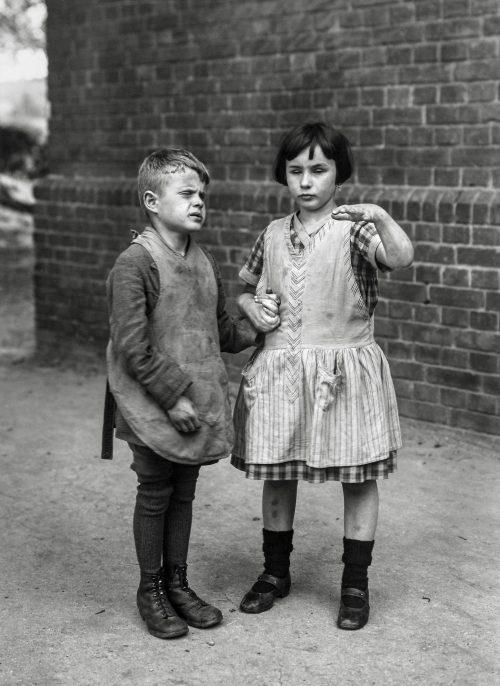 Blindfödda barn, 1921-30