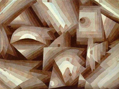 Crystal gradation, 1921