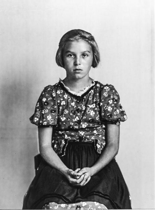Medelklass-flicka, 1930