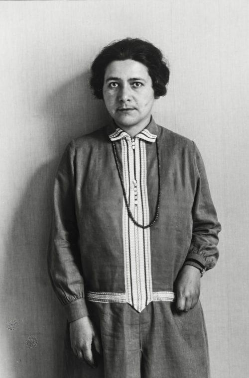 Socialistisk politiker (Rosi Wolfstein-Frölich, 1929