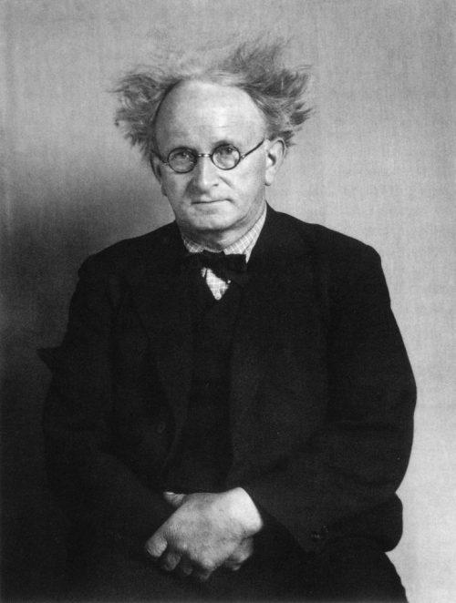 August Sander, självporträtt, 1936