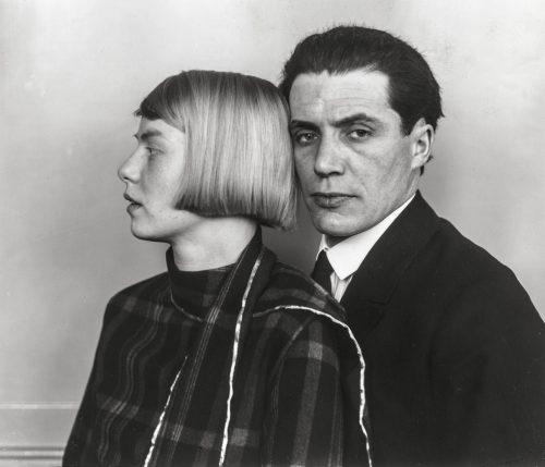 Arkitekt med fru (Heinz och Dora Luttgen), 1926