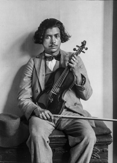 Förste violinist i zigenarorkester, 1930
