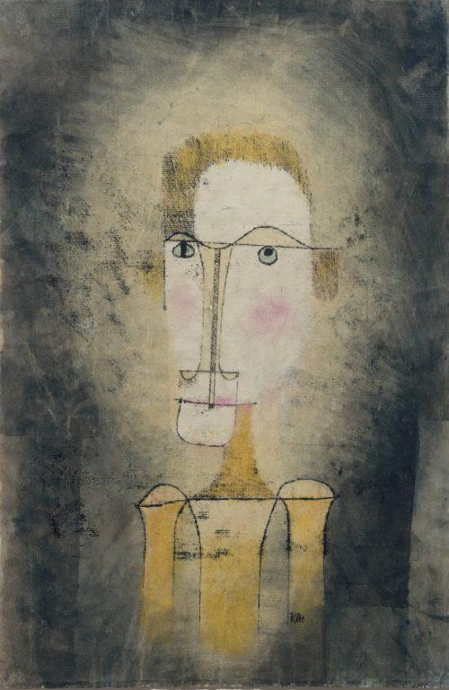 Porträtt av en gul man, 1921