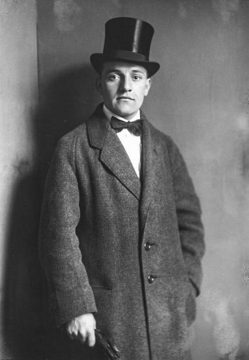 Cafémusiker, 1921