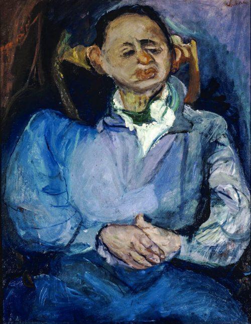 Porträtt av Miestchaninoff, ca 1924