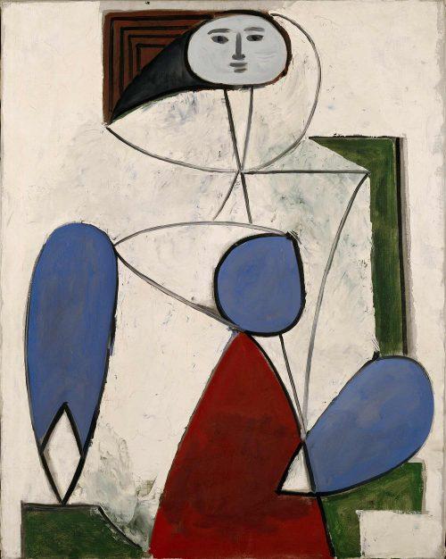 Francoise-Gilot-_099-Femme-dans-un-fauteuil-1947