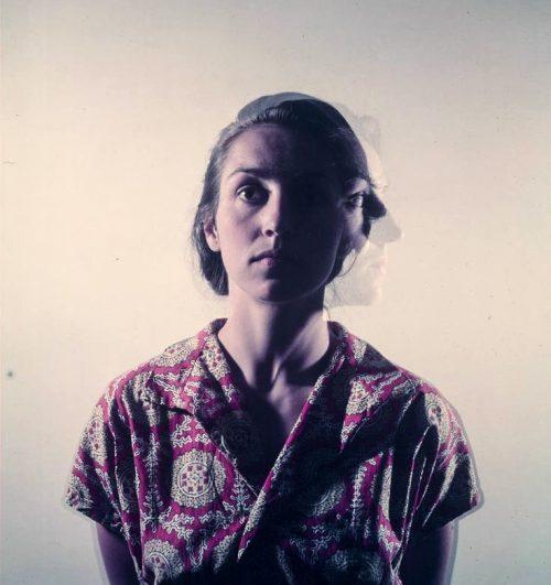 Gjon Mili, Multiple exposure portrait of Francoise Gilot