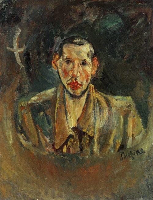 Självporträtt med skägg, 1917