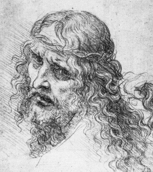Leonardo de Vinci: Kristusfigur