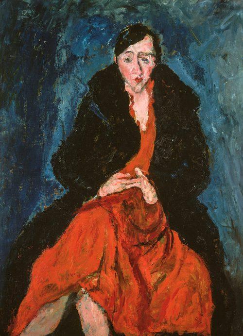 Porträtt av Madeleine Castaing, 1929