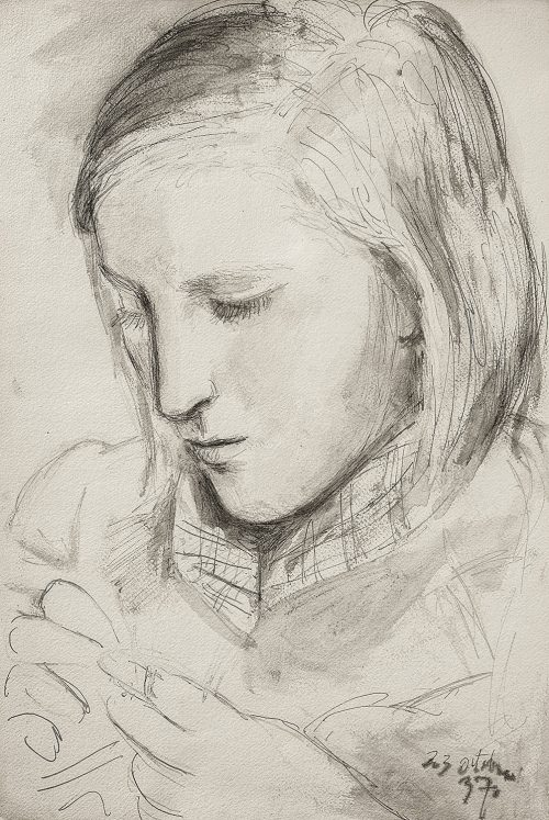 marie-therese drawing 1