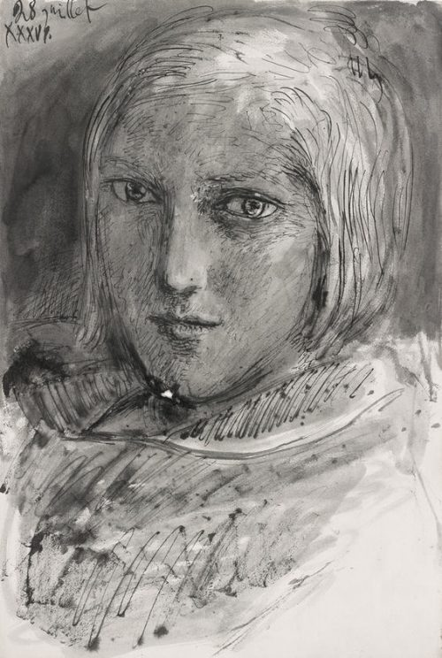 marie therese teckning 2