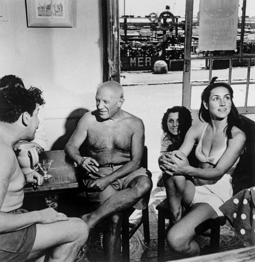 picasso-and-françoise-gilot-by-r.-capa