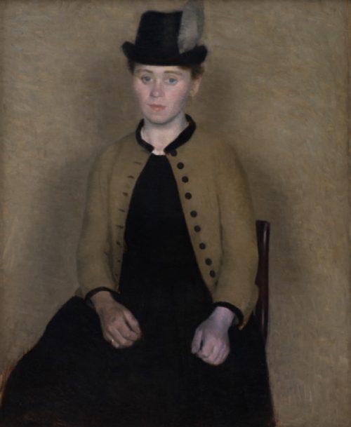Ida - konstnärens hustru