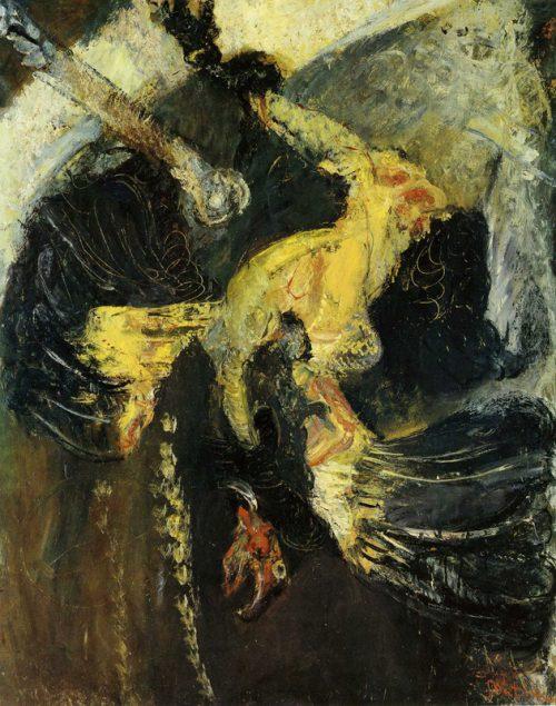Gul kalkon, ca 1925