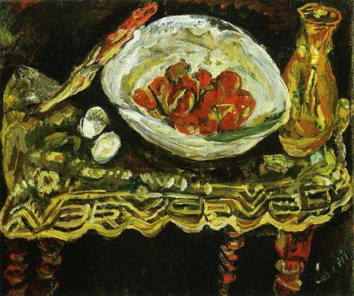 Stilleben med frukt, 1924