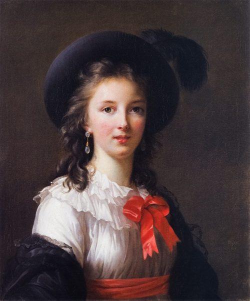 Självporträtt, 1781