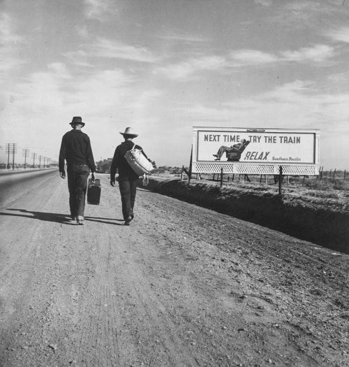 01-Dorothea-Lange-.-On-the-Road-to-Los-Angeles-California-.1937 B