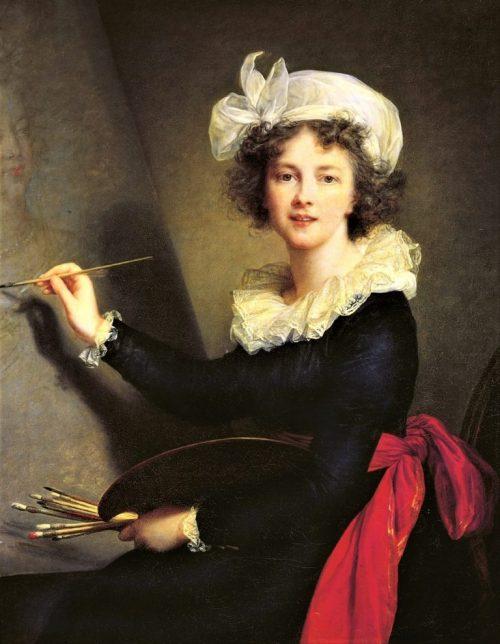 Självporträtt, 1790.