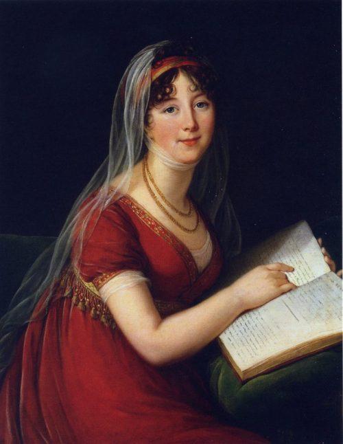 Porträtt av Mrs Margaret Chinnery, 1803.