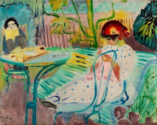I trädgården, 1920.