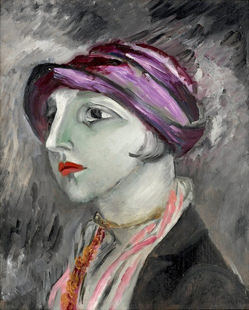 Den violetta hatten, 1923.