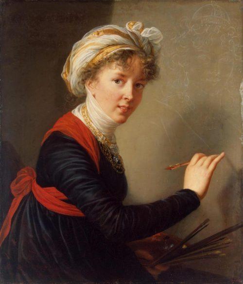Självporträtt, 1800.